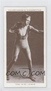 1938 Churchman's Boxing Personalities Tobacco [Base] #25 - [Missing]