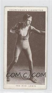 "1938 Churchman's Boxing Personalities Tobacco [Base] #25 - Ted ""Kid"" Lewis"