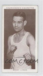 1938 Churchman's Boxing Personalities Tobacco [Base] #27 - Benny Lynch