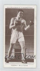 1938 Churchman's Boxing Personalities Tobacco [Base] #29 - Tommy Milligan [Good to VG‑EX]