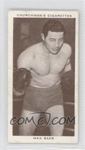 1938 Churchman's Boxing Personalities Tobacco [Base] #3 - Max Baer [Good to VG‑EX]