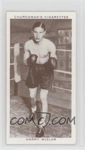 1938 Churchman's Boxing Personalities Tobacco [Base] #30 - Harry Mizler