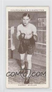 1938 Churchman's Boxing Personalities Tobacco [Base] #30 - Harry Mizler