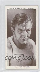 1938 Churchman's Boxing Personalities Tobacco [Base] #31 - Walter Neusel