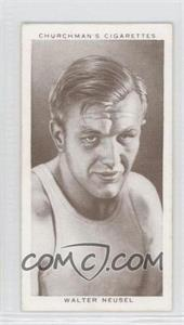 1938 Churchman's Boxing Personalities Tobacco [Base] #31 - Walter Neusel