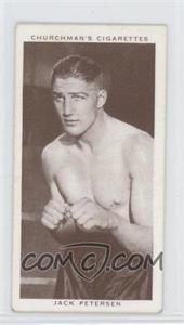 1938 Churchman's Boxing Personalities Tobacco [Base] #32 - Jack Petersen