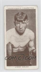 1938 Churchman's Boxing Personalities Tobacco [Base] #37 - Jimmy Walsh [Good to VG‑EX]