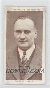 1938 Churchman's Boxing Personalities Tobacco [Base] #49 - Sydney Hulls [GoodtoVG‑EX]