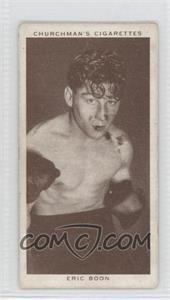 1938 Churchman's Boxing Personalities Tobacco [Base] #5 - [Missing] [GoodtoVG‑EX]