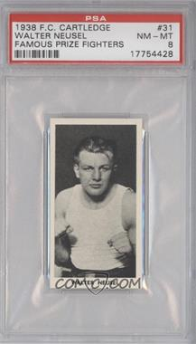 1938 Fred C. Cartledge Ltd. Famous Prize Fighters #31 - [Missing] [PSA 8]