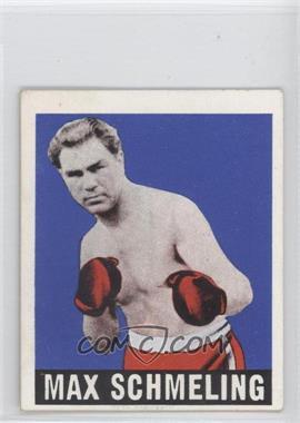 1948 Leaf - [Base] #32 - Max Schmeling