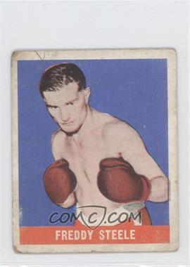 1948 Leaf - [Base] #71 - Freddy Steele [GoodtoVG‑EX]