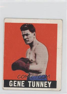 1948 Leaf - [Base] #73 - Gene Tunney [Good to VG‑EX]