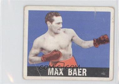 1948 Leaf - [Base] #93 - Max Baer [GoodtoVG‑EX]