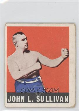 1948 Leaf #101 - John L. Sullivan [Good to VG‑EX]