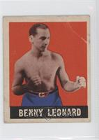 Benny Leonard [Good to VG‑EX]