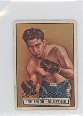1951 Topps Ringside - [Base] #71 - Tony Pellone [GoodtoVG‑EX]