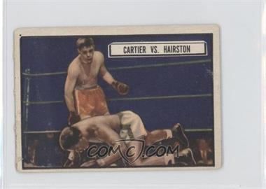 1951 Topps Ringside - [Base] #80 - Walter Cartier, Eugene Hairston [Good to VG‑EX]