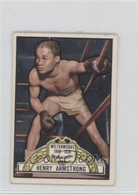 1951 Topps Ringside #2 - Henry Armstrong