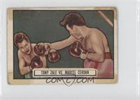 Tony Zale, Marcel Cerdan [Poor to Fair]