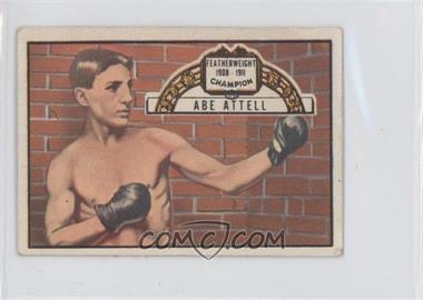 1951 Topps Ringside #60 - Abe Attell