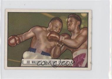 1951 Topps Ringside #85 - Ezzard Charles, Jersey Joe Walcott [GoodtoVG‑EX]