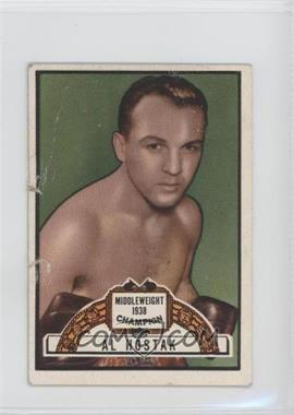 1951 Topps Ringside #92 - Al Hostak [Good to VG‑EX]