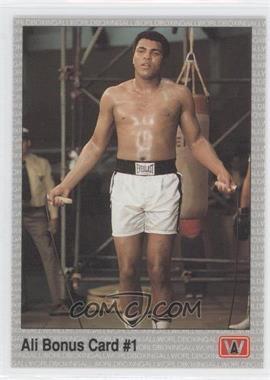1991 All World Boxing - [Base] #1 - Muhammad Ali