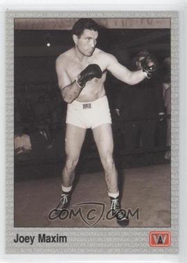 1991 All World Boxing - [Base] #28 - Joey Maxim