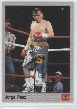 1991 All World Boxing [???] #122 - [Missing]