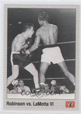 1991 All World Boxing [???] #144 - Sugar Ray Robinson, Jake LaMotta