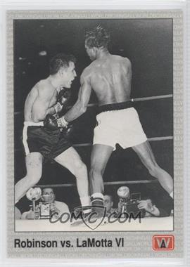 1991 All World Boxing [???] #144 - Sugar Ray Robinson, Jake LaMotta