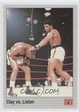 1991 All World Boxing [???] #146 - Cassius Clay, Sonny Liston