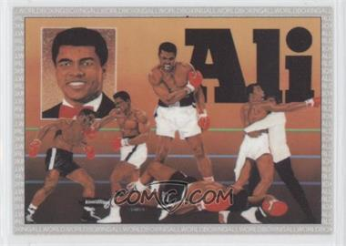 1991 All World Boxing #1 - Checklist (Muhammad Ali)