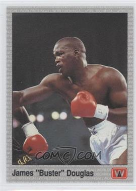 "1991 All World Boxing #13 - James ""Buster"" Douglas"