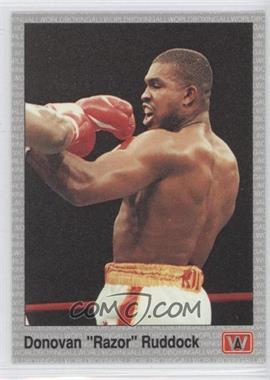 1991 All World Boxing #131 - Donovan Ruddock