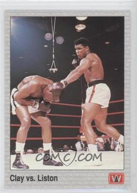 1991 All World Boxing #146 - Cassius Clay, Sonny Liston