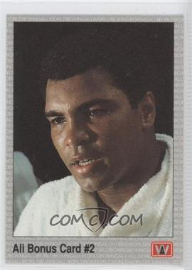 1991 All World Boxing #22 - Ali Bonus Card #2