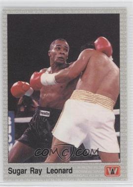 1991 All World Boxing #24 - Sugar Ray Leonard
