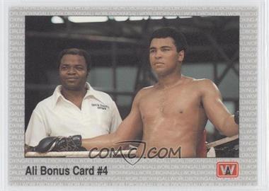1991 All World Boxing #44 - Ali Bonus Card #4
