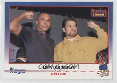 1991 Kayo - [Base] #037 - Super Bout (Sugar Ray Leonard, Roberto Duran)
