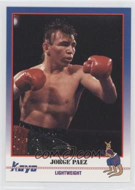 1991 Kayo - [Base] #051 - Jorge Paez