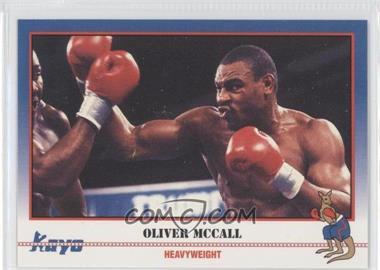 1991 Kayo - [Base] #182 - Oliver McCall