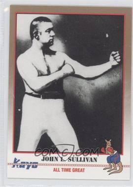1991 Kayo - [Base] #208 - John L. Sullivan