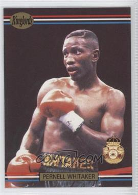 1991 Ringlords - [Base] #34.2 - Pernell Whitaker (Printed in the U.K.)