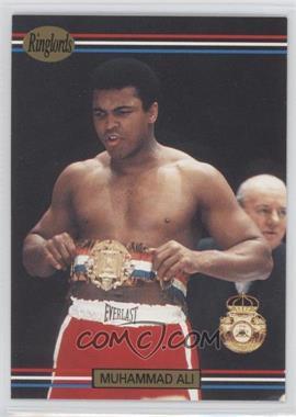 1991 Ringlords - [Base] #40.2 - Muhammad Ali (Printed in the U.K.)