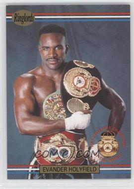 1991 Ringlords #1.2 - Evander Holyfield (Printed in the U.K.)