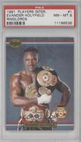 Evander Holyfield (Printed in the U.K.) [PSA 8]
