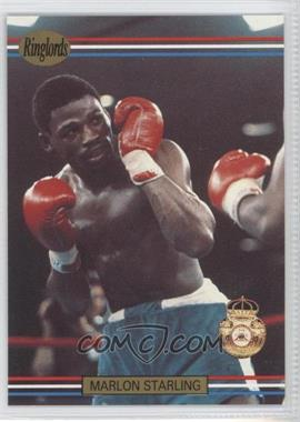 1991 Ringlords #28.2 - Marlon Starling (Printed in the U.K.)