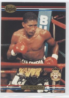 1991 Ringlords #37.2 - Luis Mendoza (Printed in the U.K.)
